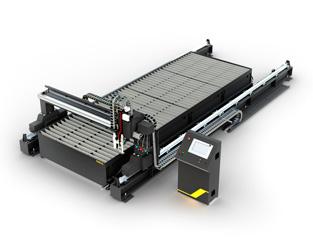 машины термической резки с ЧПУ AMN для раскроя листового металла